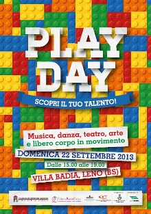 play day volantino