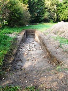 Scavi archeologici in Villa