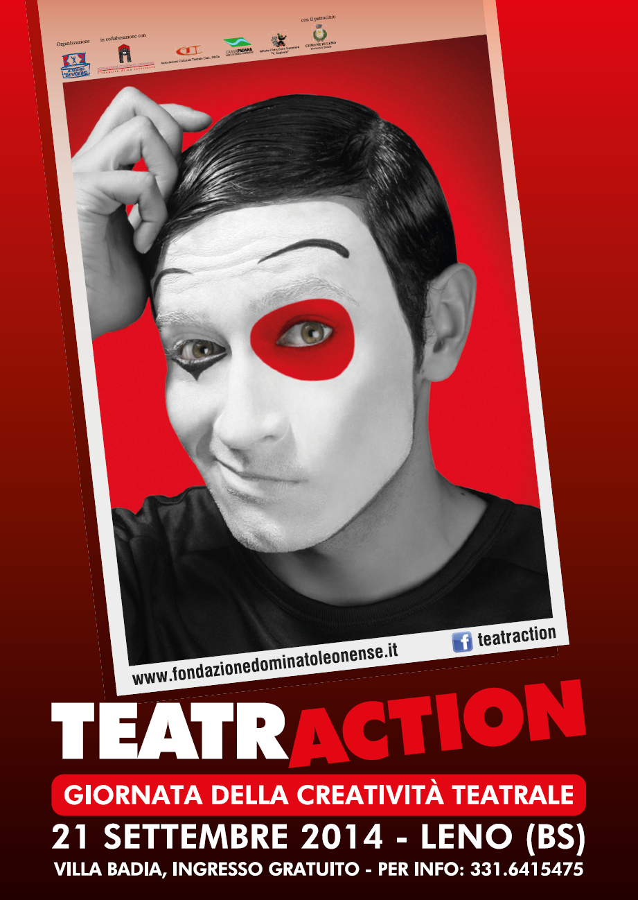 locandina TeatrAction2014