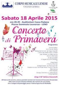 Concerto primavera