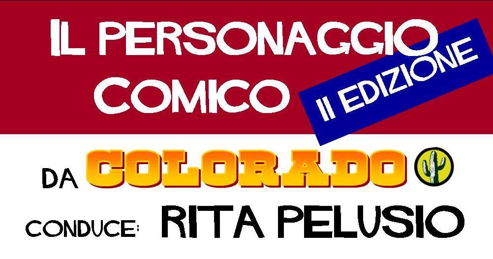 personaggio comico II edizione banner