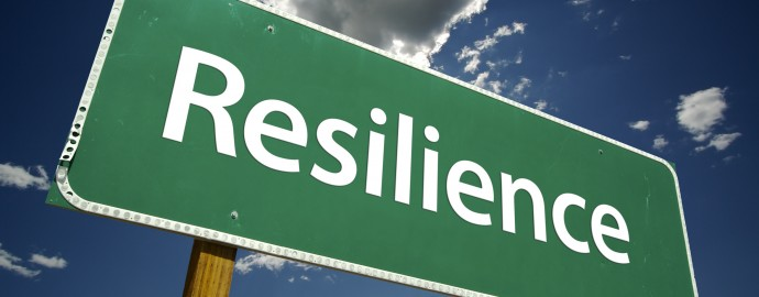 Resilience Road Sign