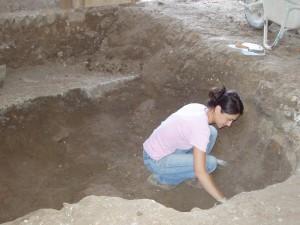 chiesa scavi