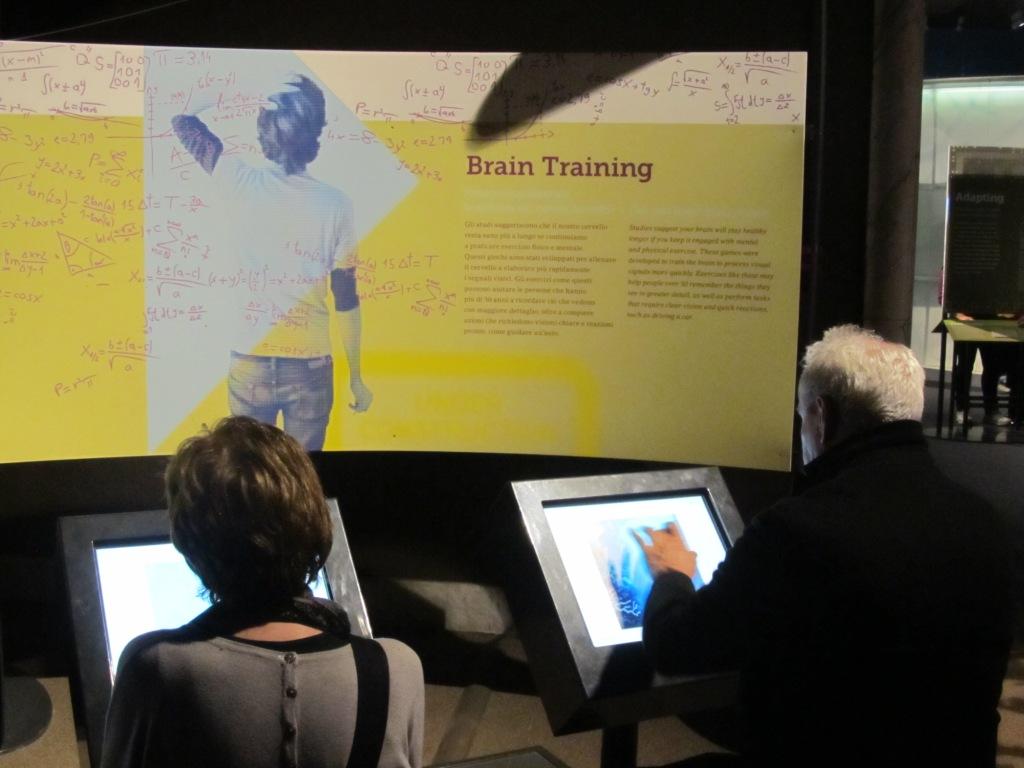 Uscita alla mostra Brain, Milano (Mi) - 12 febbraio 2014