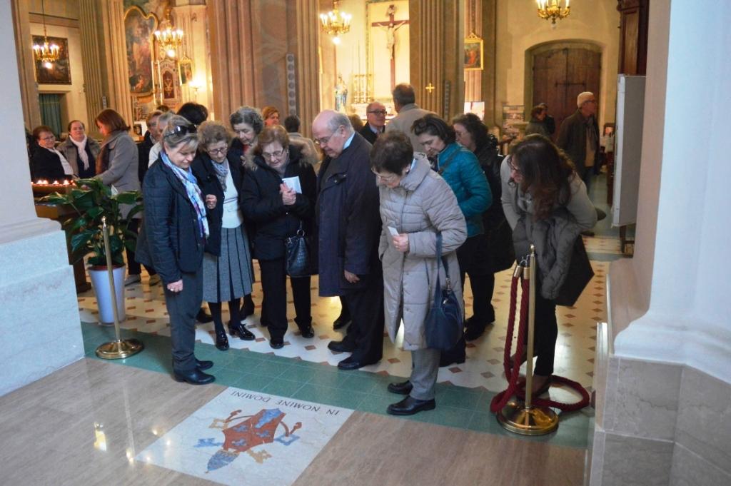 Uscita ai luoghi di Papa Paolo VI, Concesio (Bs) - 18 marzo 2015