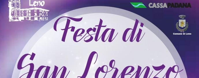 locandina Festa di San Lorenzo copertina