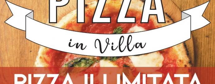 Copertina pizza in Villa