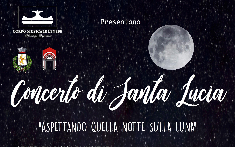 Locandina Concerto di Santa Lucia 2019 - copertina