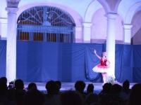 Spettacolo 4Faces in Villa Badia